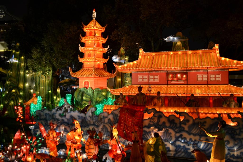 豫園ランタン祭り2013-2