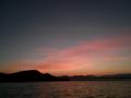 泸沽湖夜明け前
