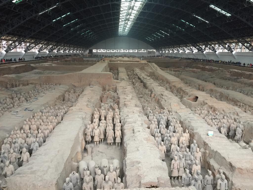 秦始皇帝陵及び兵馬俑