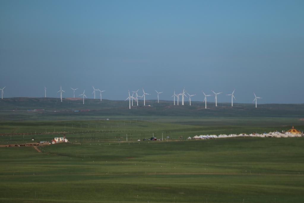 内モンゴル(包頭)シラムレン草原