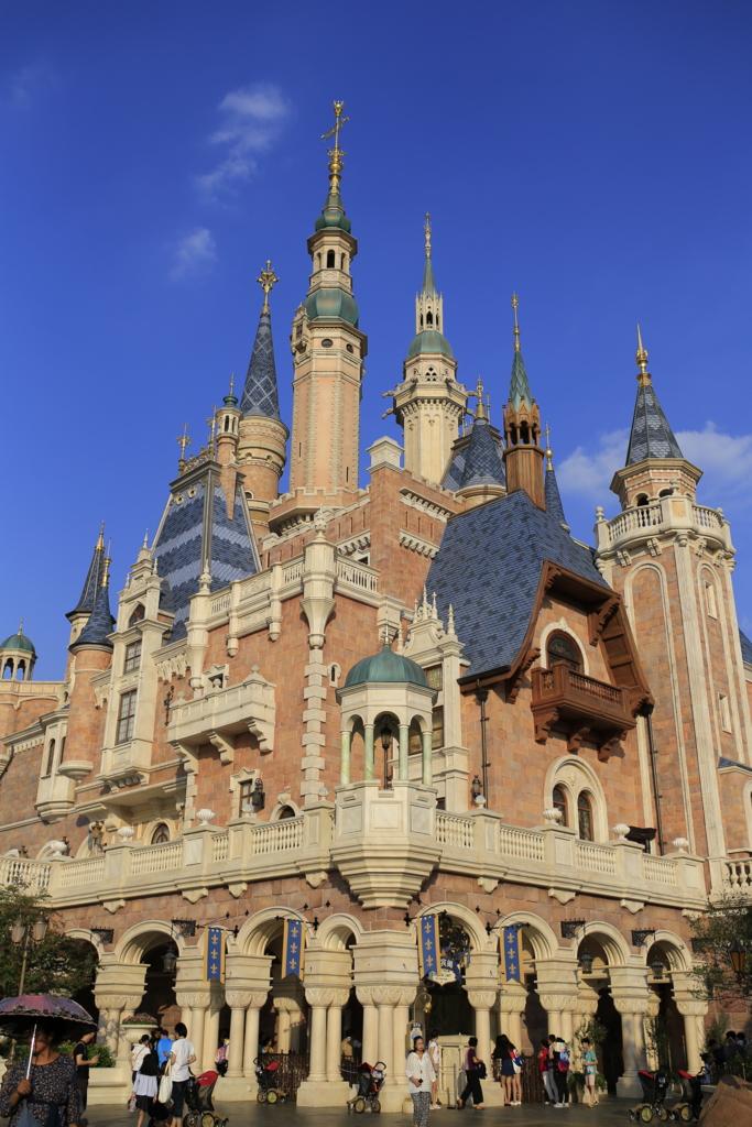 上海ディズニーシンデレラ城