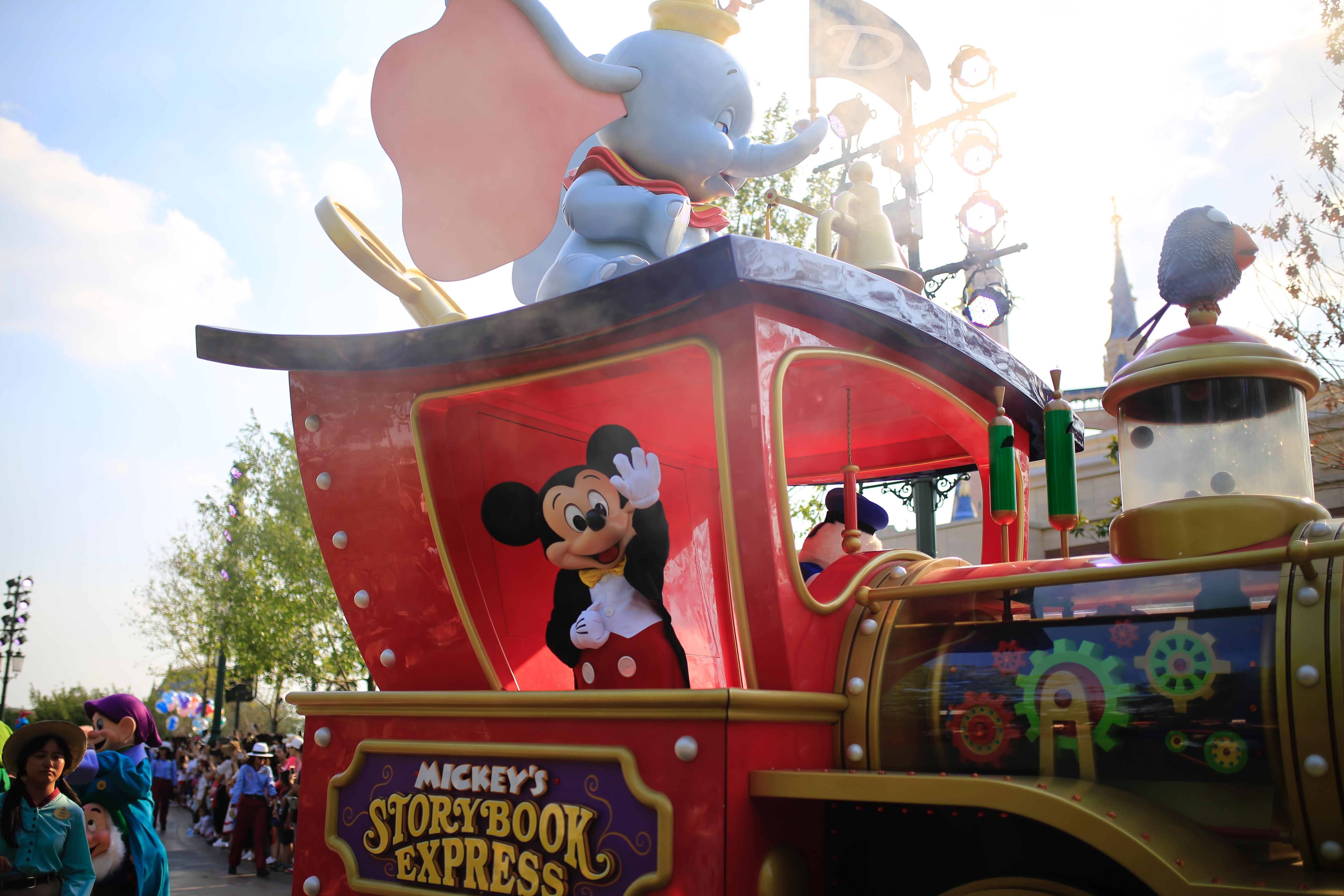 上海ディズニーパレード