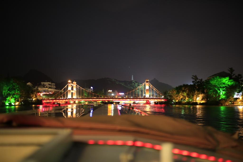 桂林両江四湖ナイトクルーズ