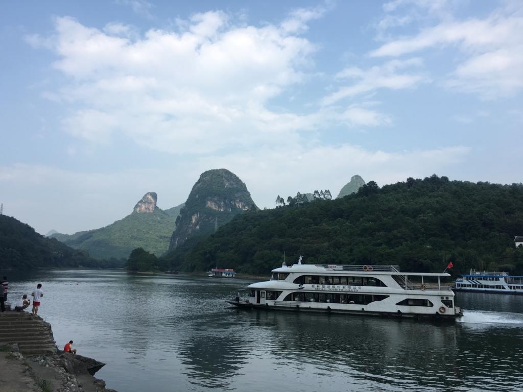 漓江川下り船
