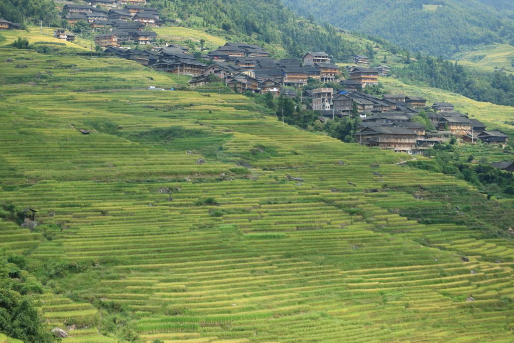 广西チワン自治区、龙胜各族自治县、龙脊镇平安村