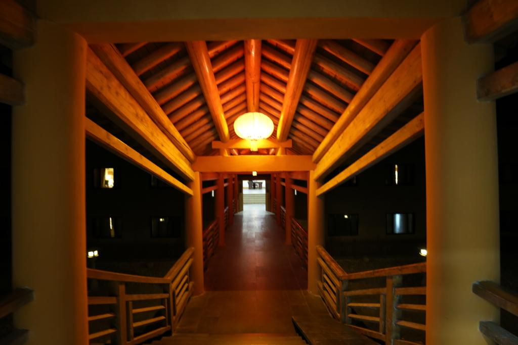 敦煌山荘渡り廊下