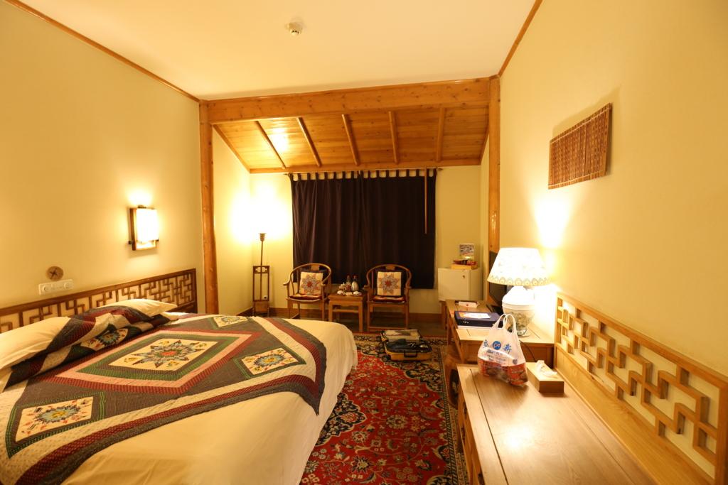 敦煌山荘ベッド