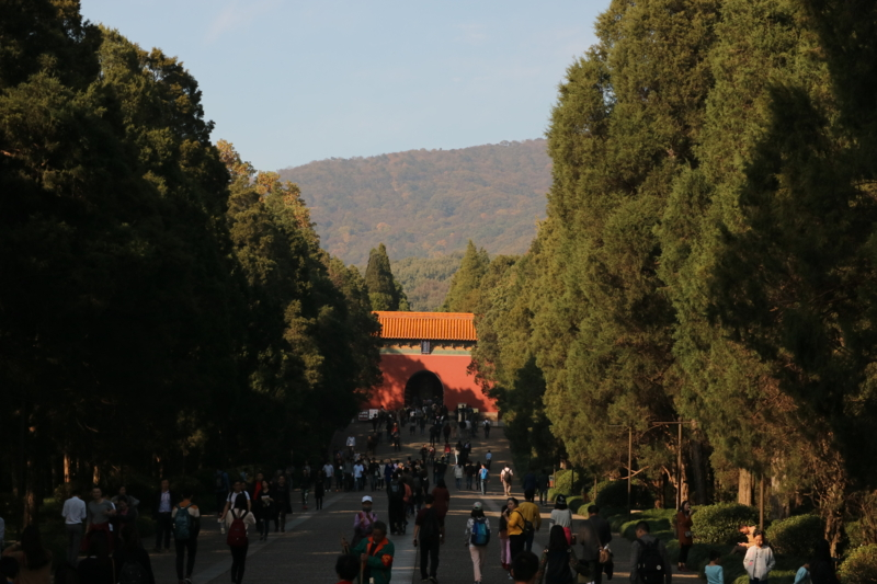 明孝陵神道