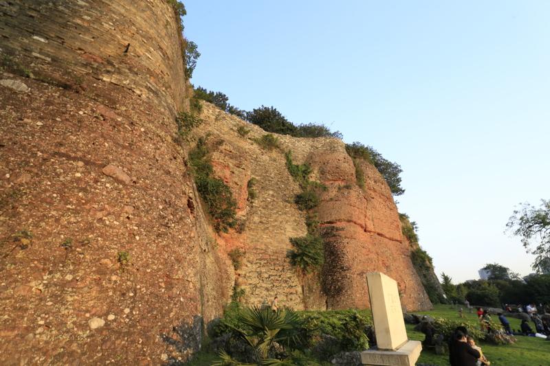 石頭城遺跡、城壁2