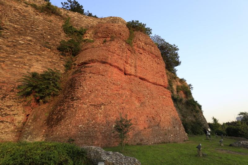 石頭城遺跡、城壁1