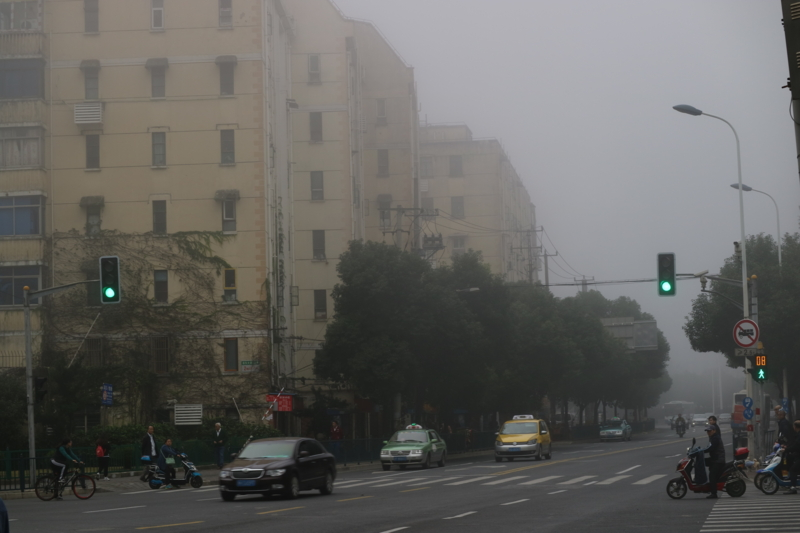 上海雾霾 2016-11月