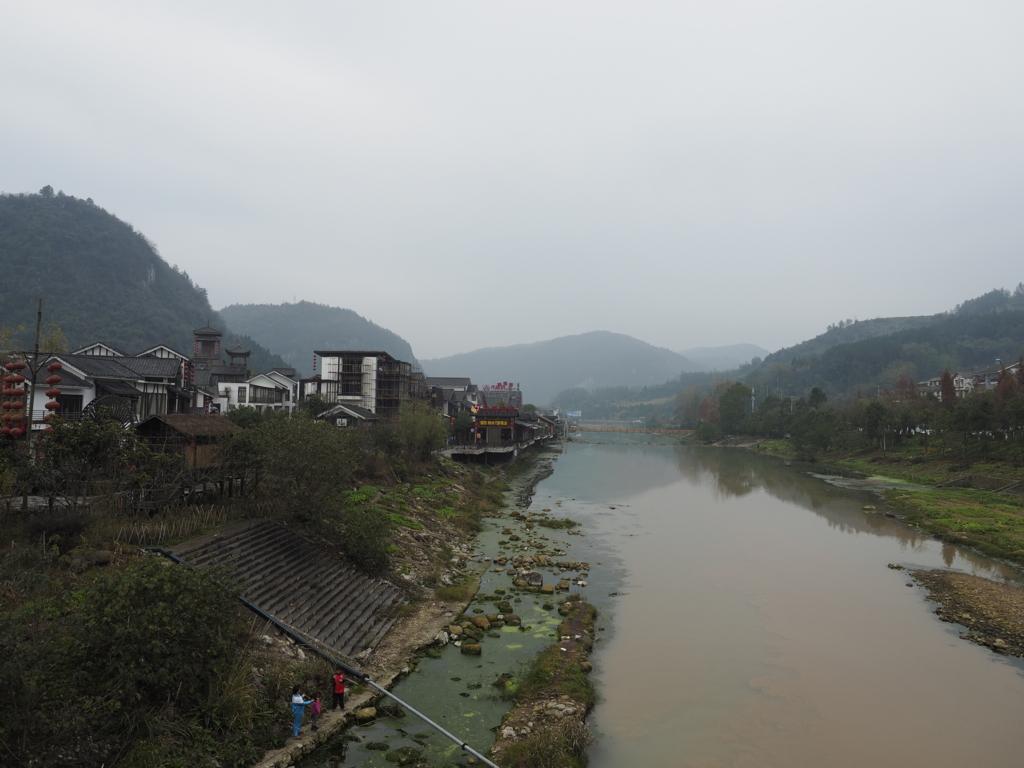 武陵源区の河