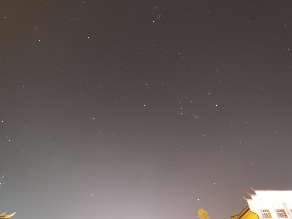 張家界市武陵源区の星空撮影