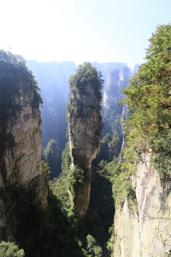 武陵源の景観と歴史地域(張家界)