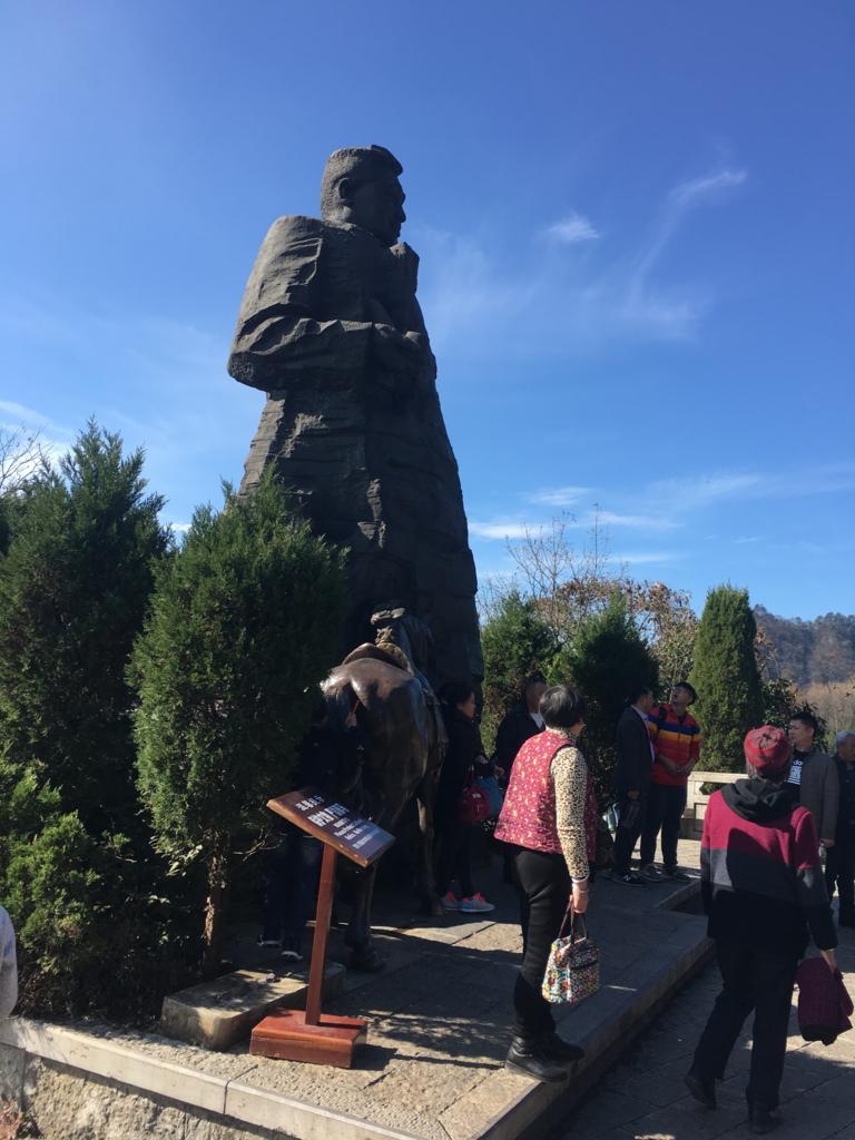 張家界国家森林公園,武陵源天子山賀龍さん