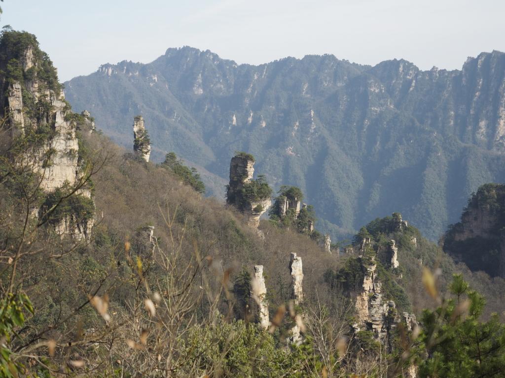 張家界国家森林公園,武陵源天子山,仙女散花