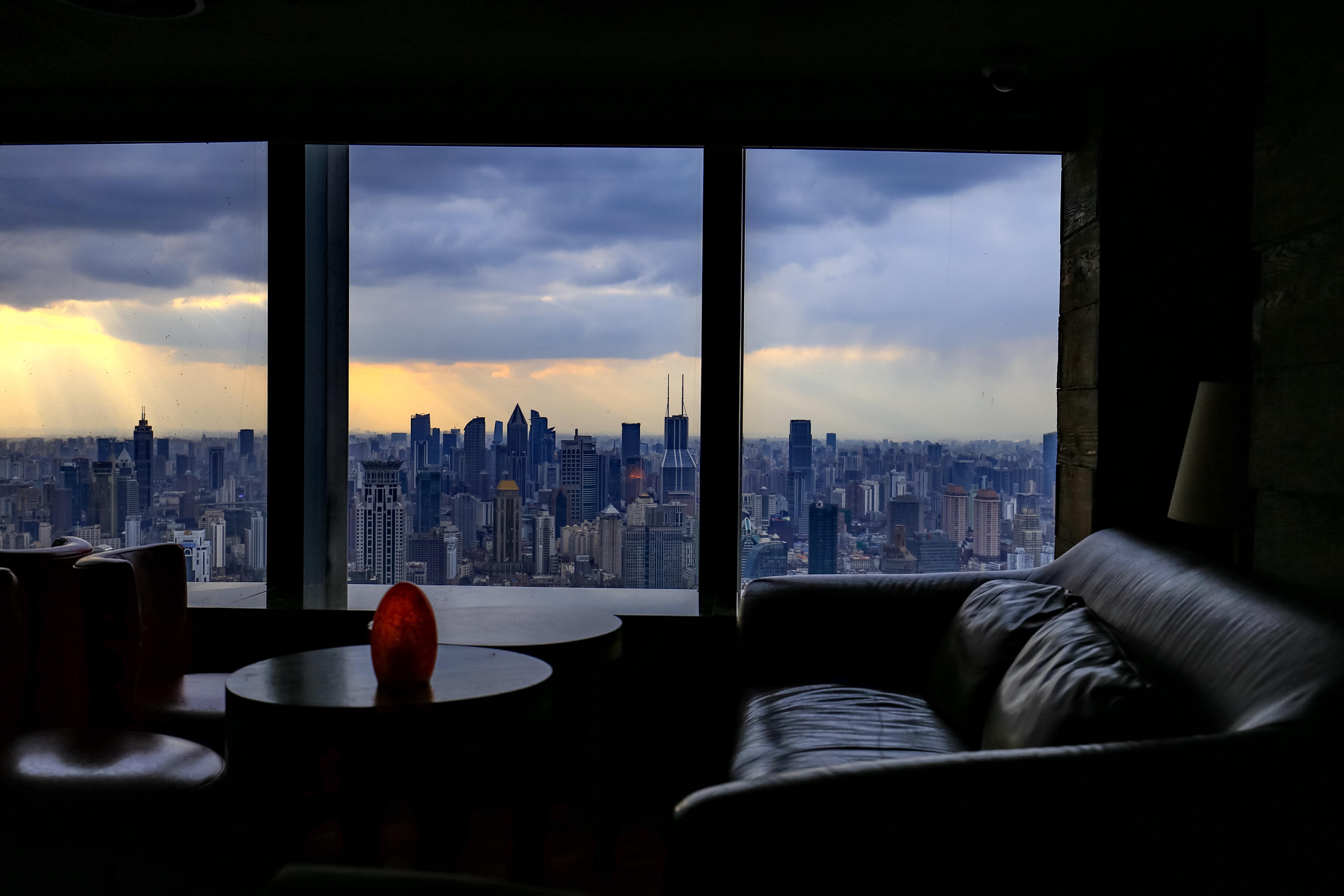 上海リッツカールトンからの景色(FLAIR)