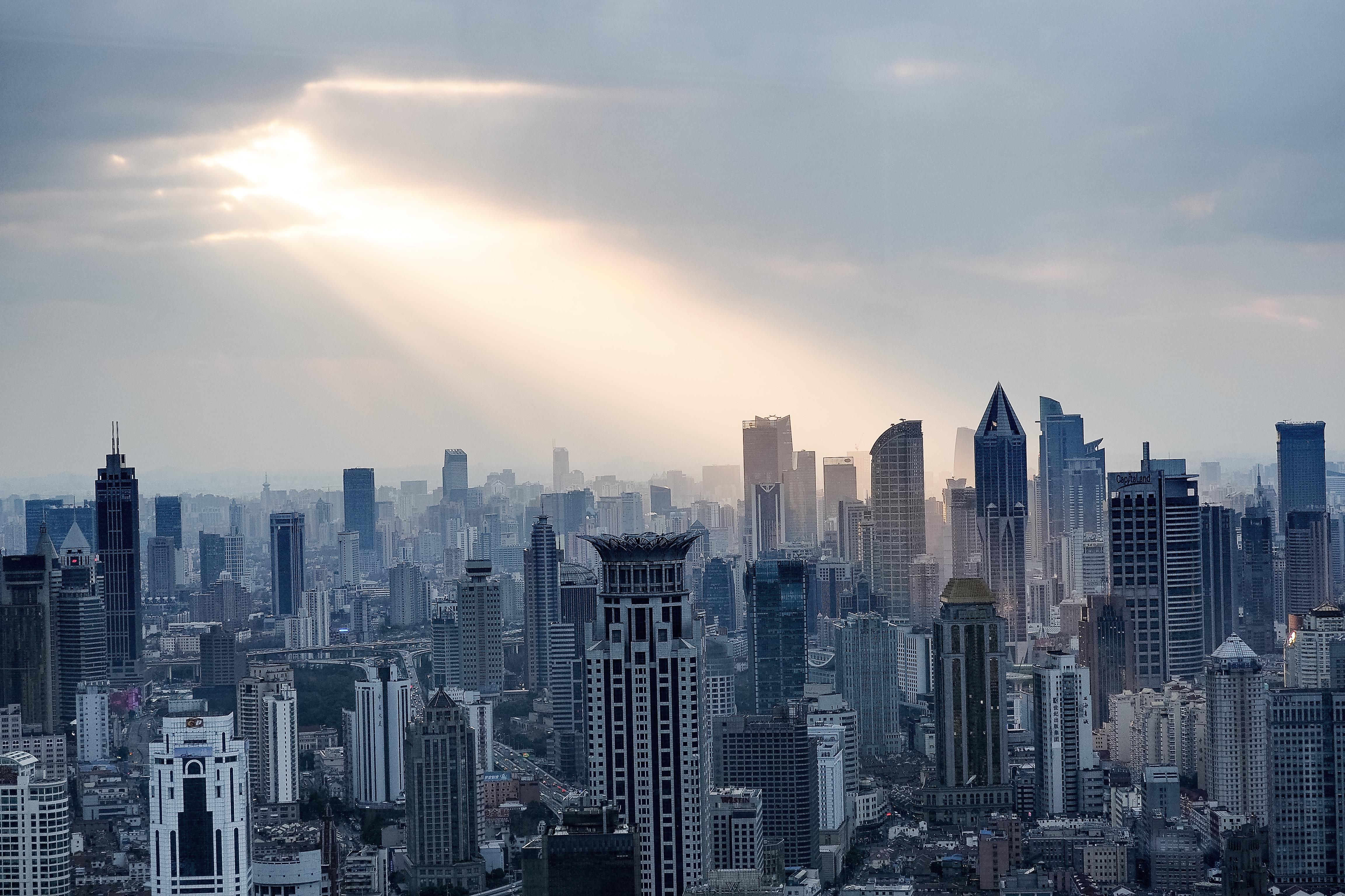 上海リッツカールトンからの景色