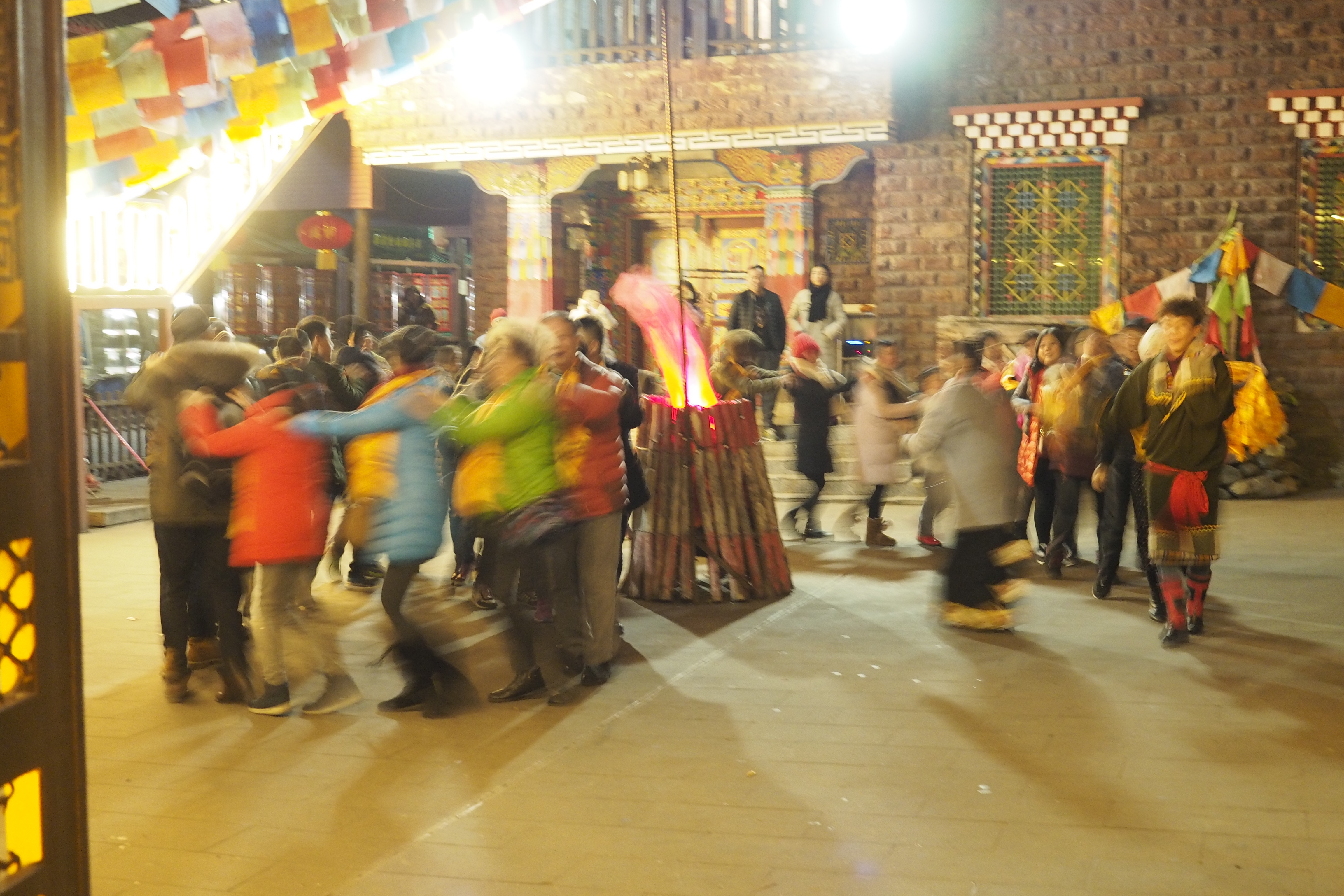 チベット族ダンス
