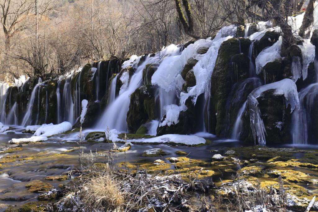 箭竹海瀑布(滝)