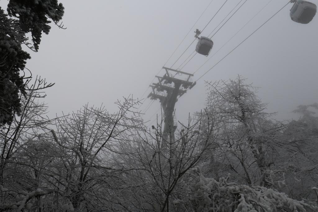 峨眉山ロープーウェイ