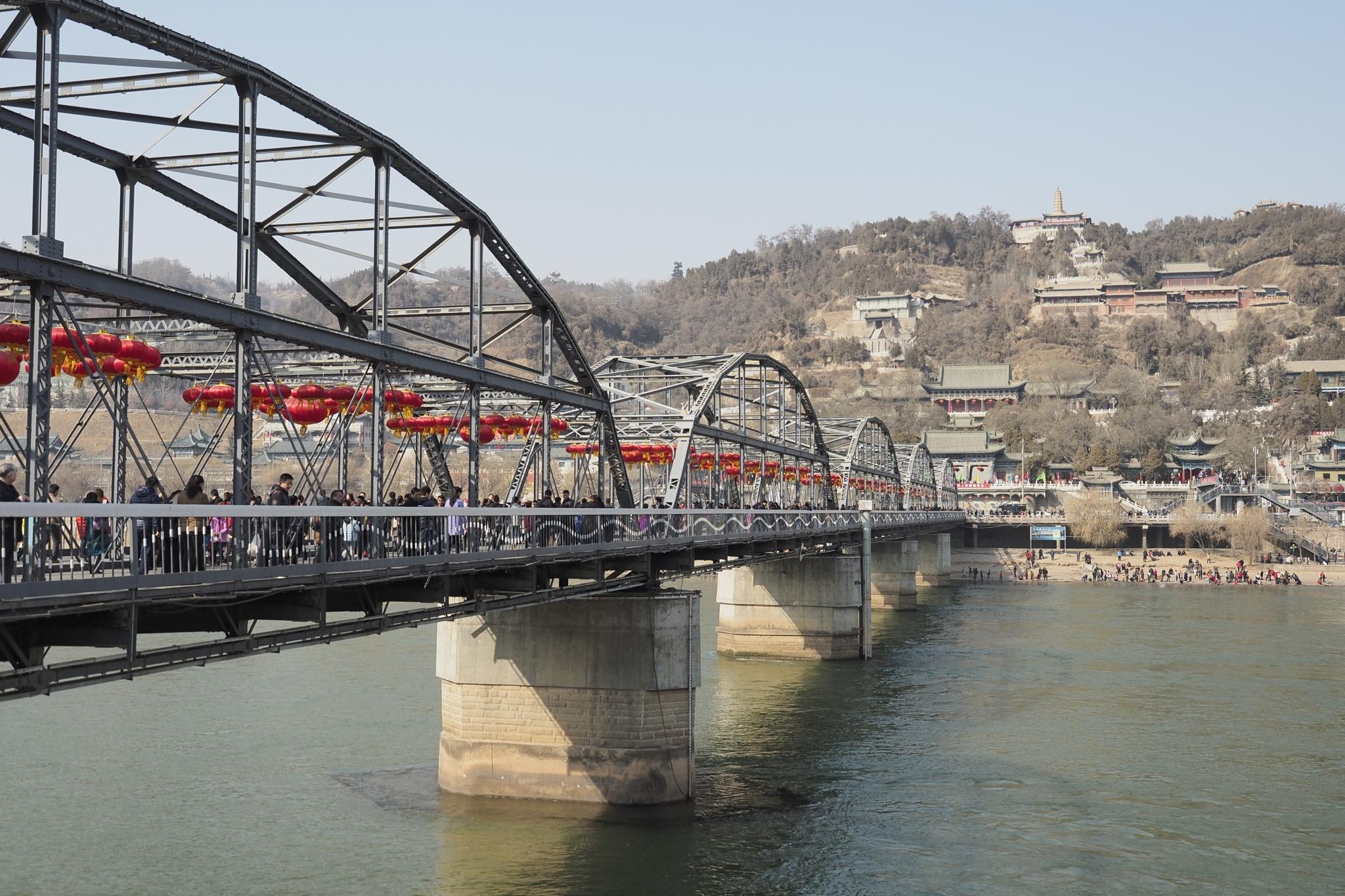 冬の中山鉄橋