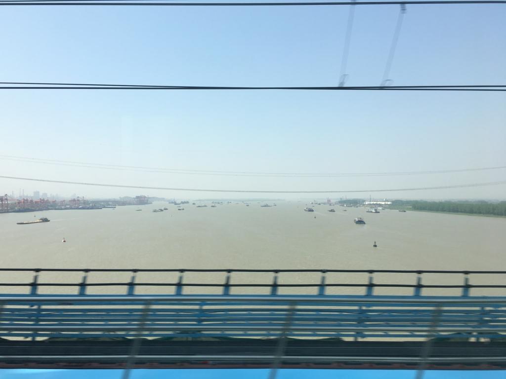 車窓からの江蘇省
