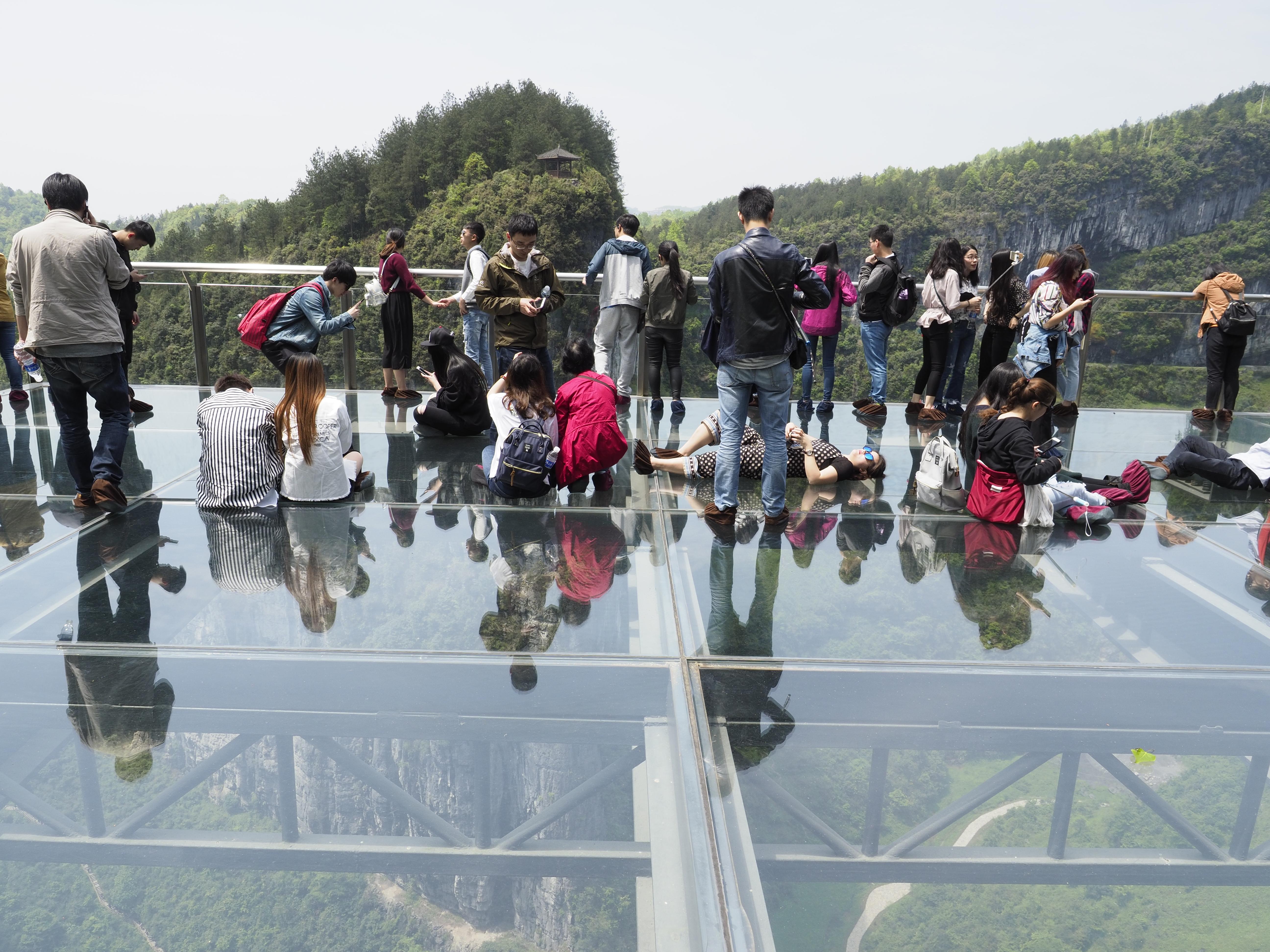 天生三橋玻璃眺台
