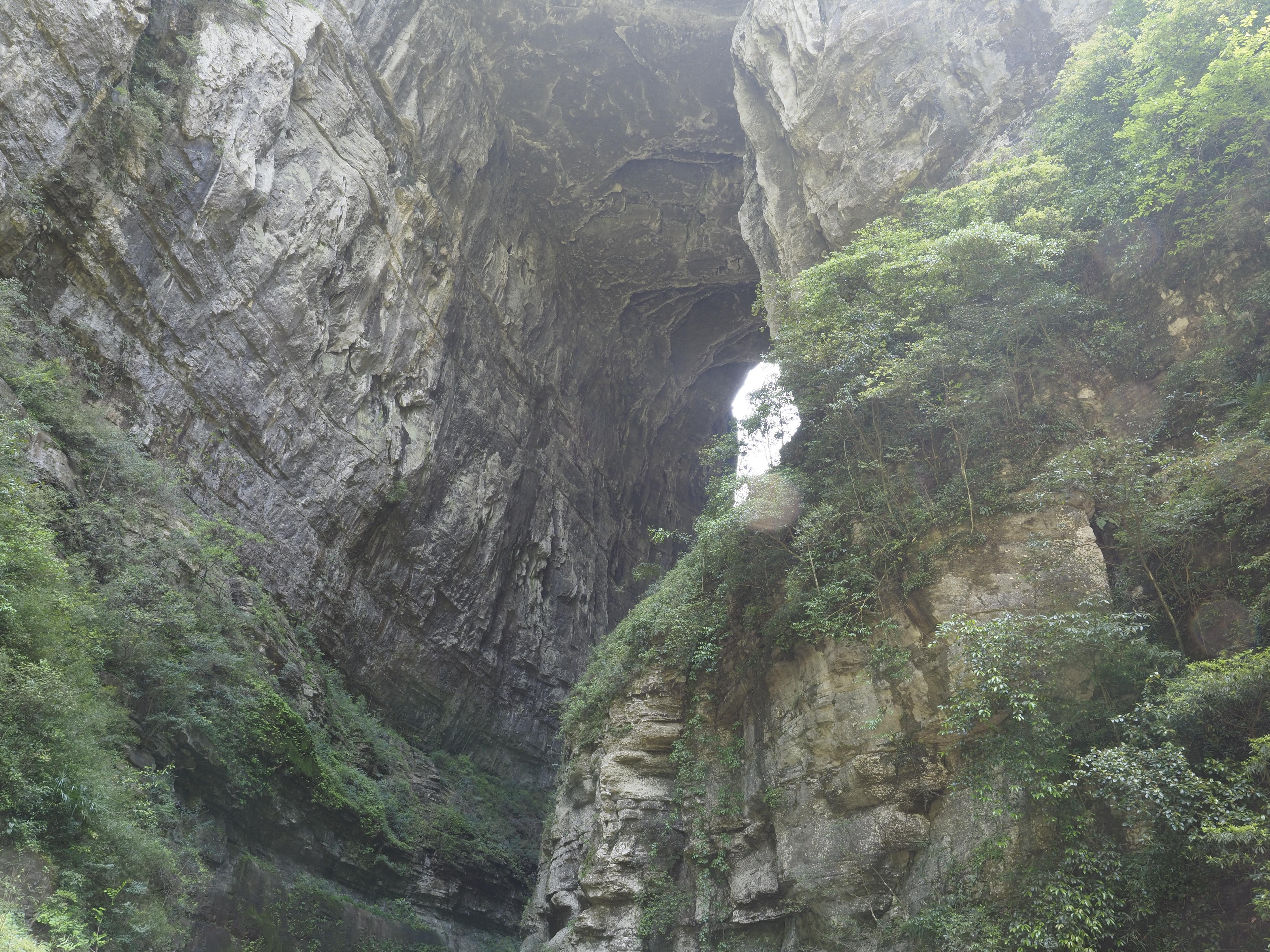武隆天坑三橋-天龙桥(天龍橋)