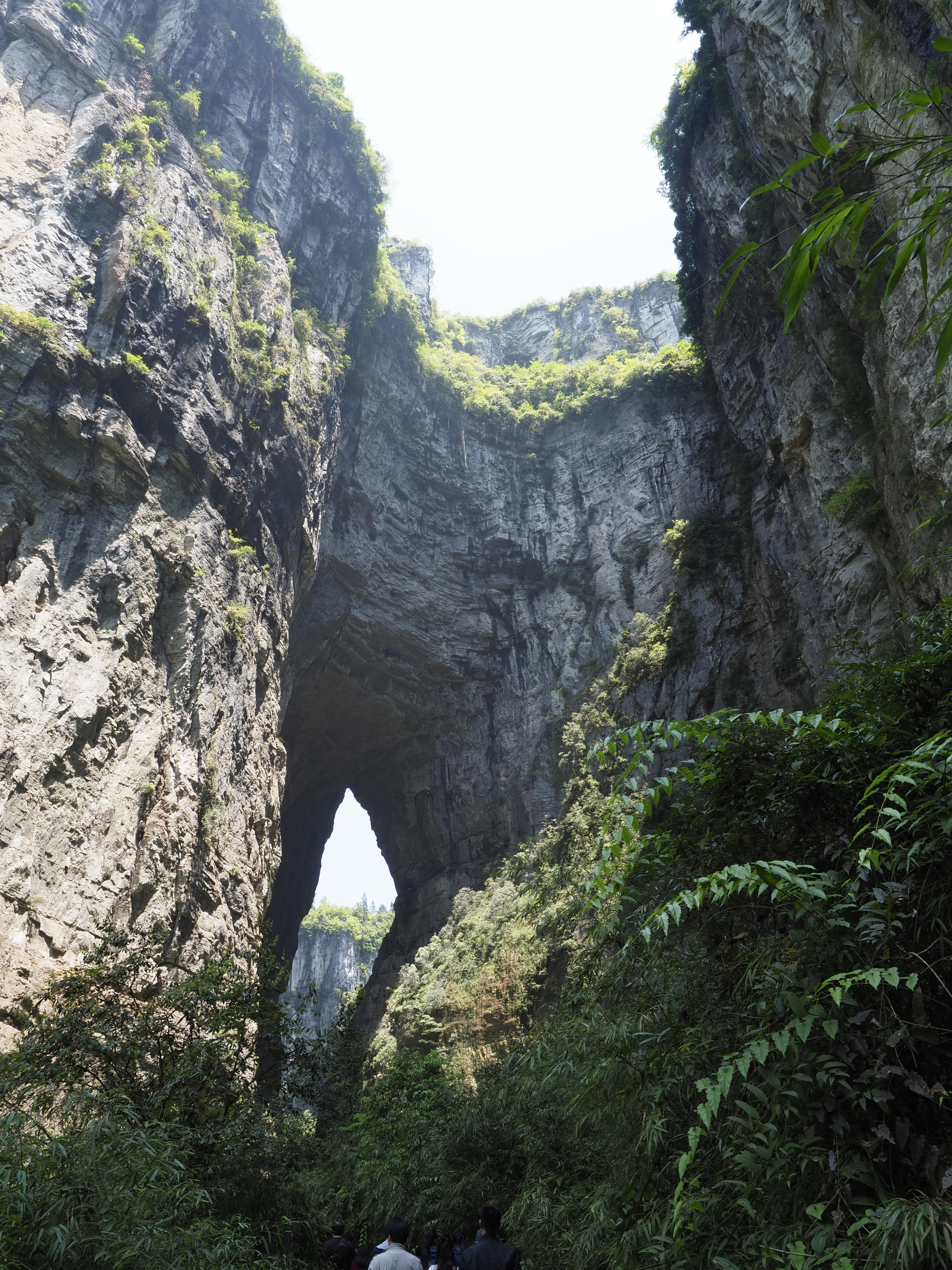 武隆天坑三橋-青龙桥(青龍橋)