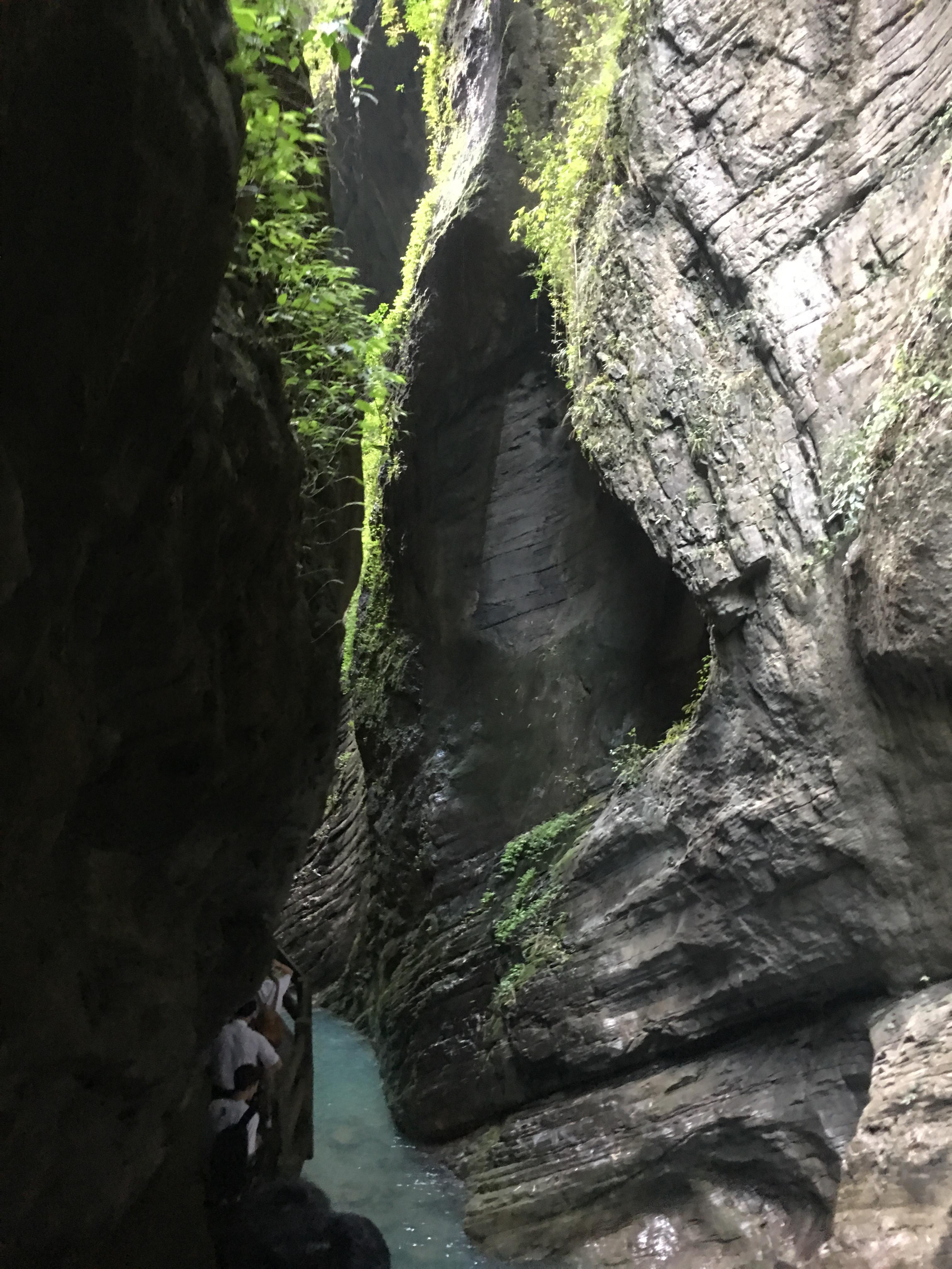 武隆龍水峡地縫