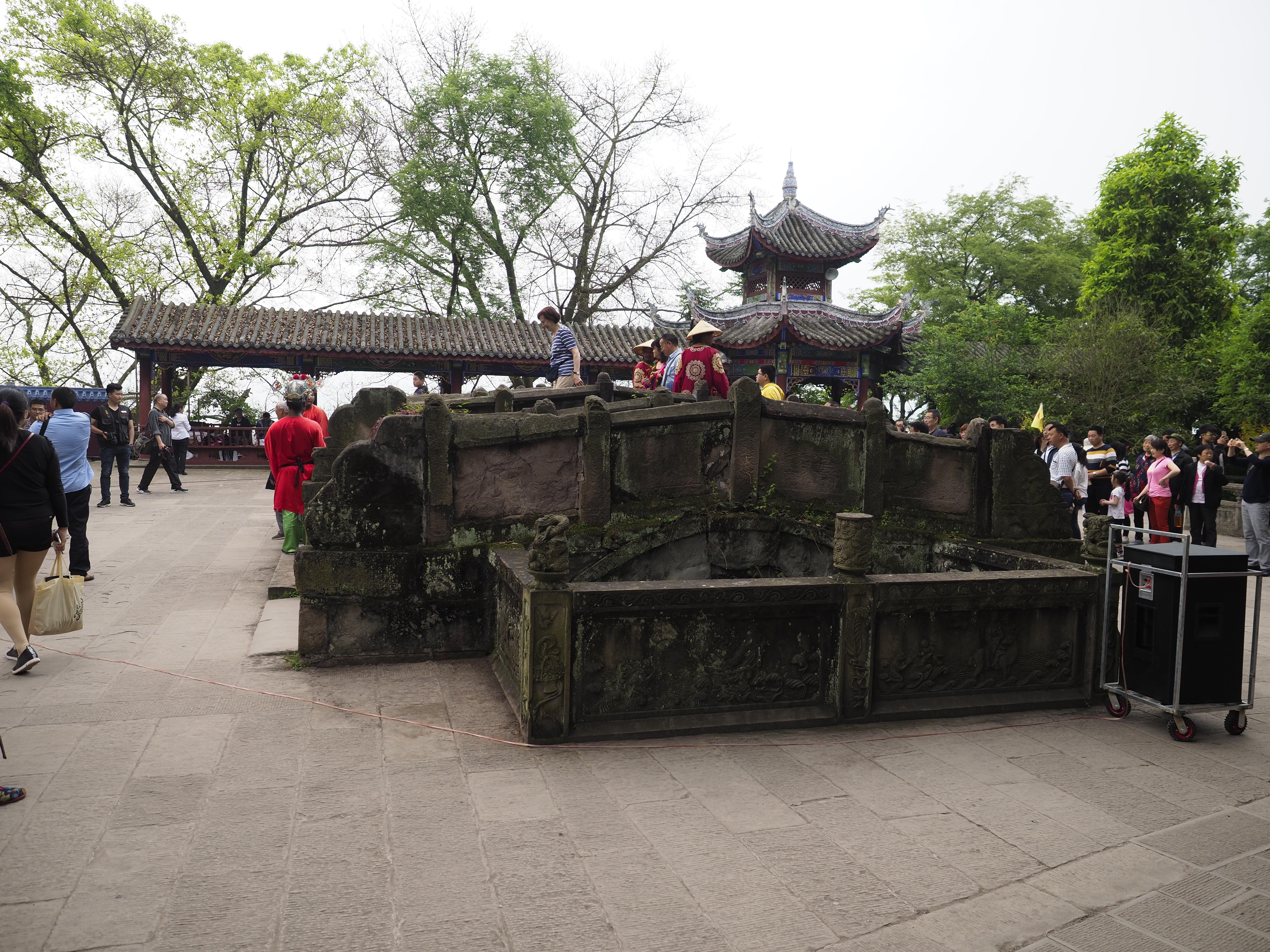 豊都鬼城、奈河橋