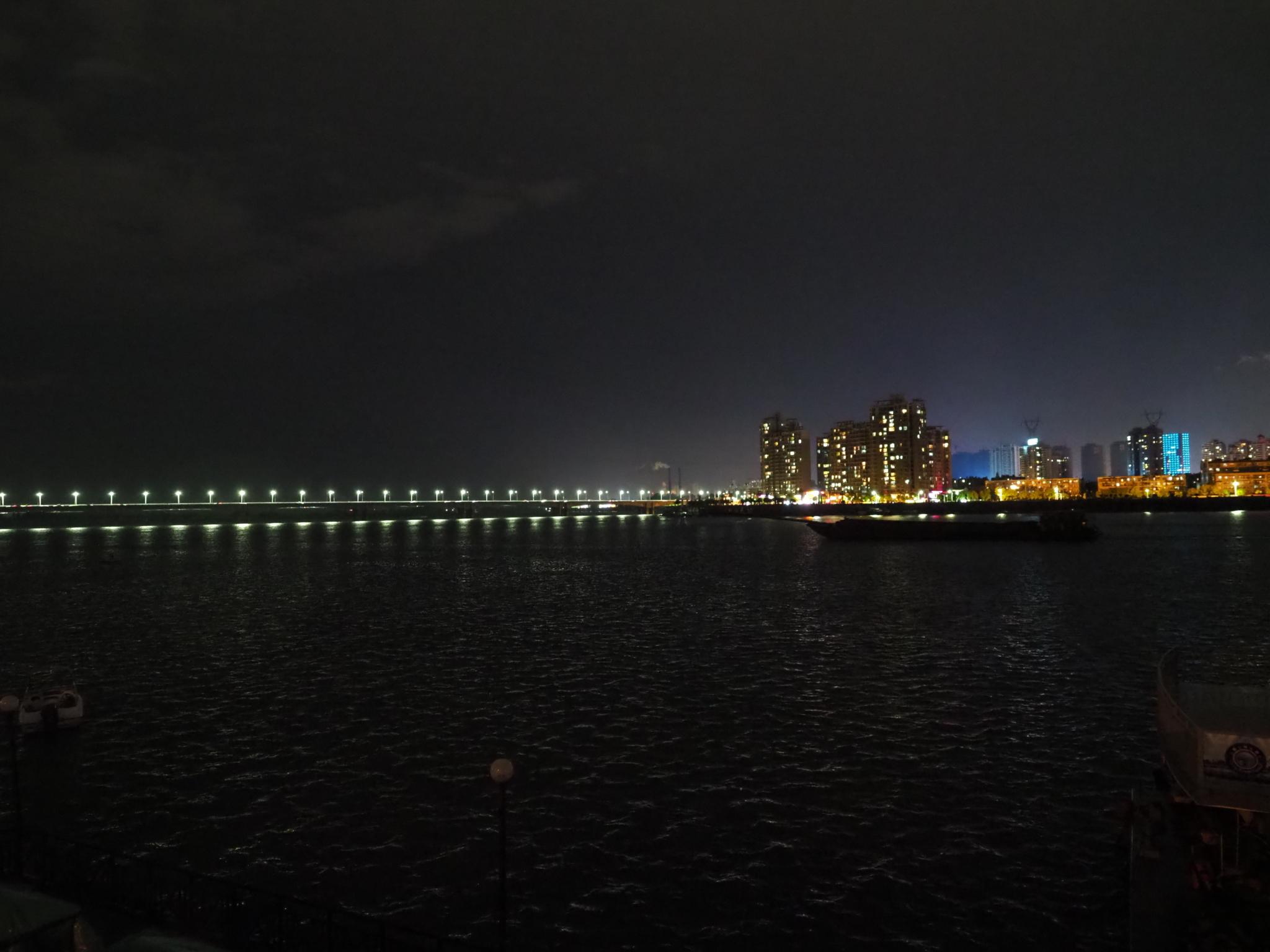 襄陽の夜景
