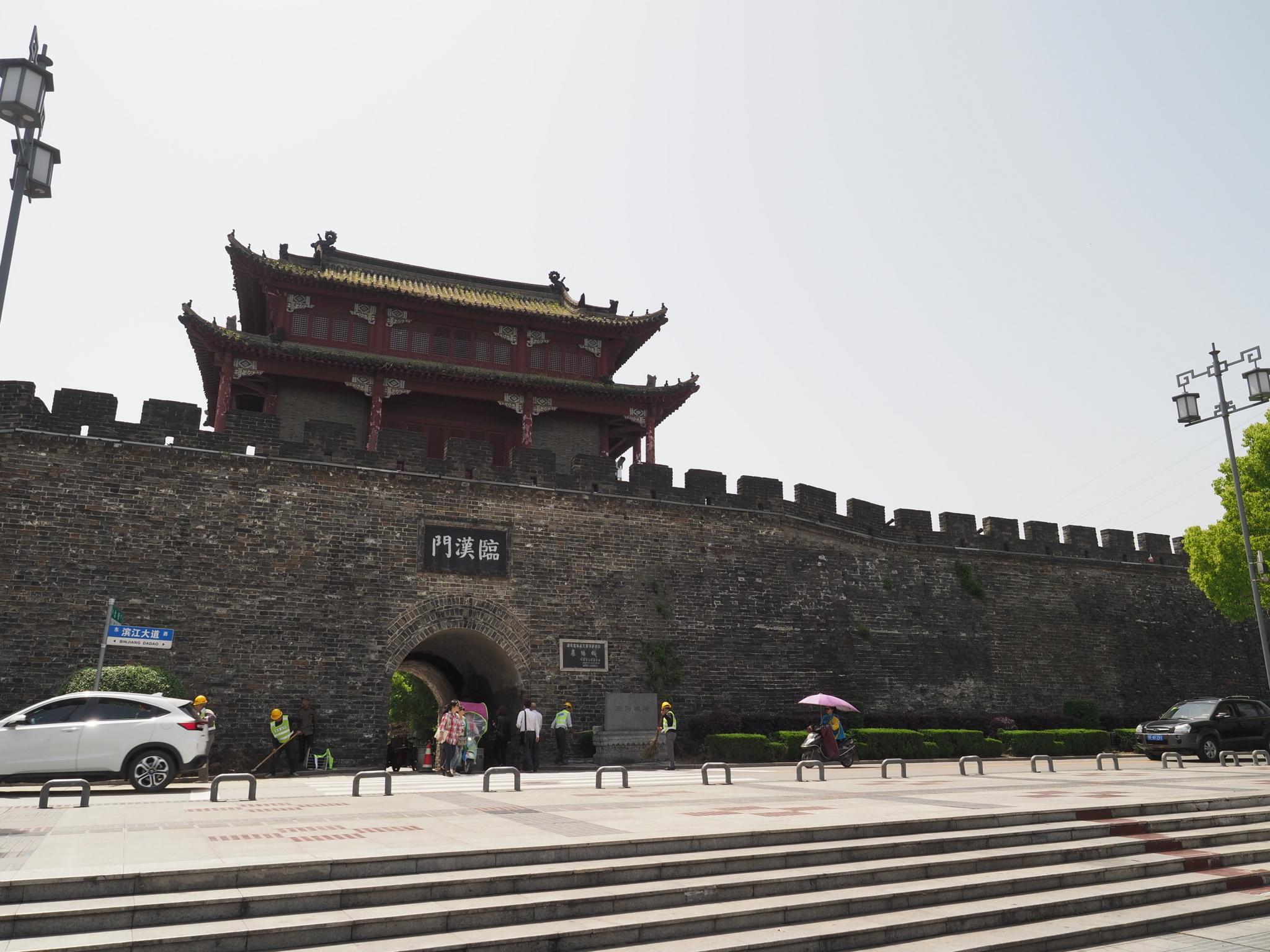 襄陽城北門