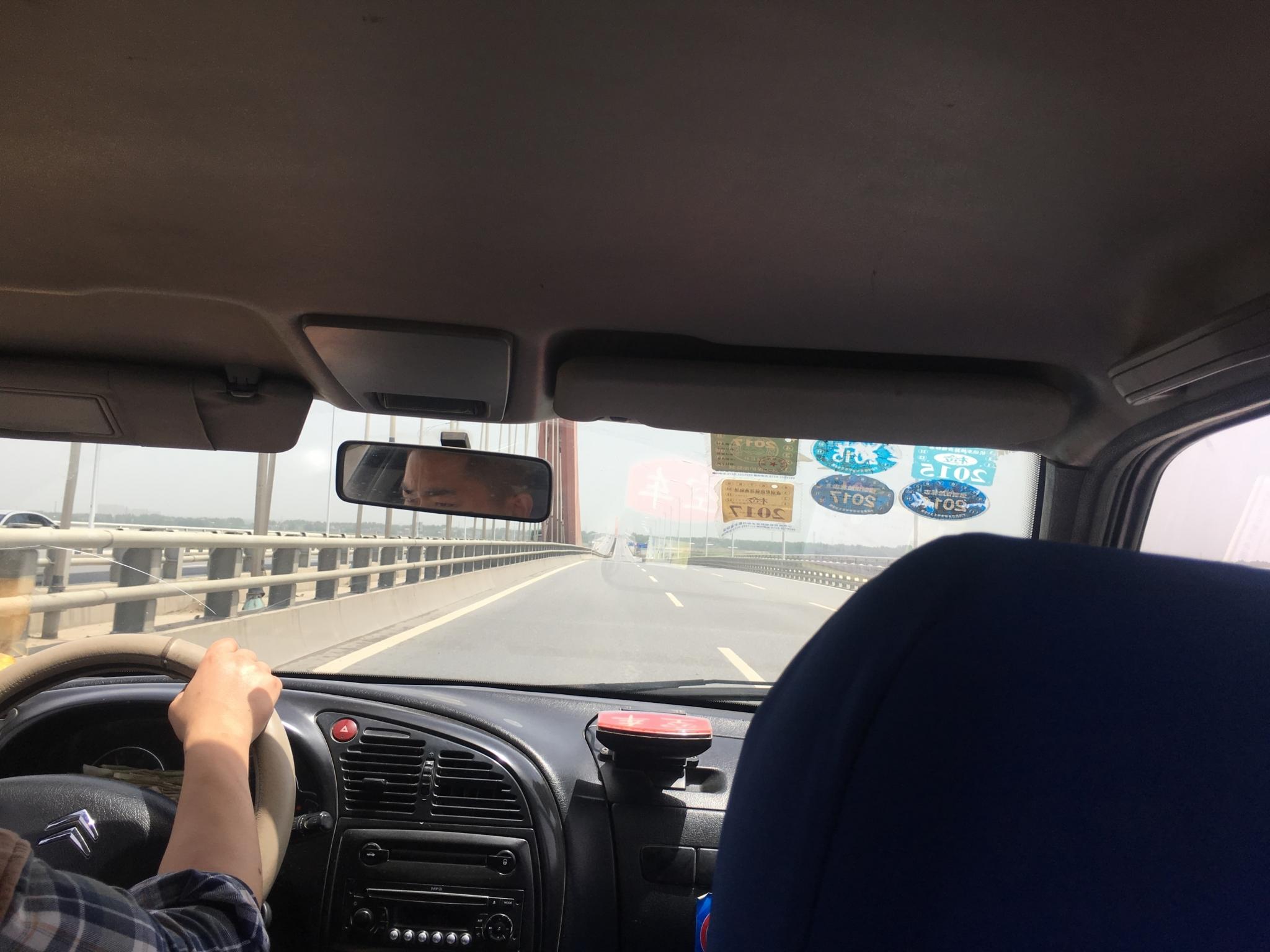 襄阳东站までのタクシー