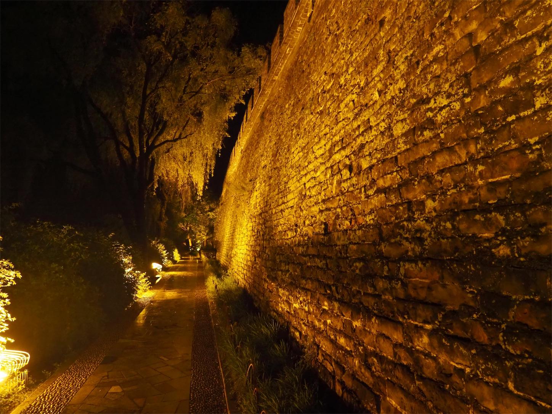 襄陽の夜景・襄陽城