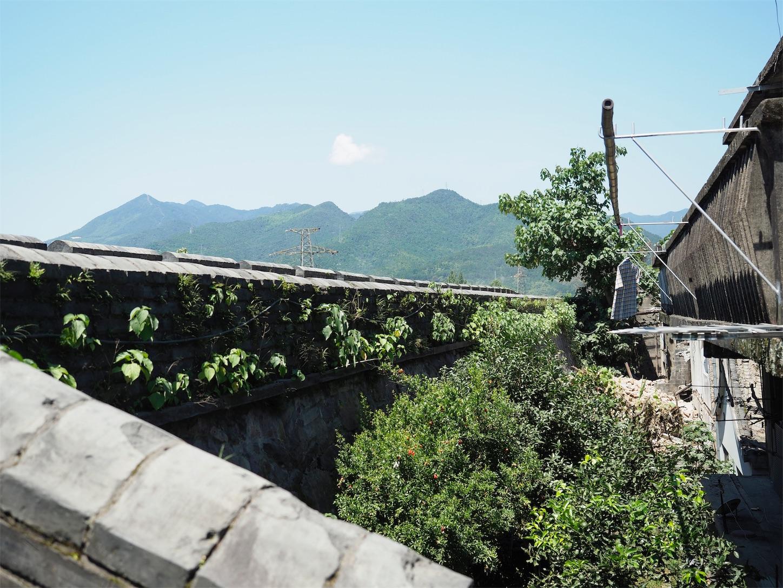 江南長城の城壁