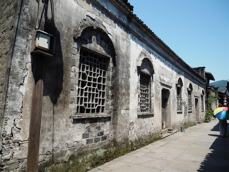 臨海古城(紫陽街)白い壁