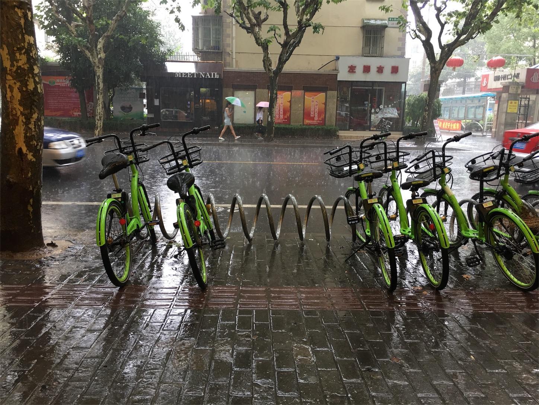 昼間自転車