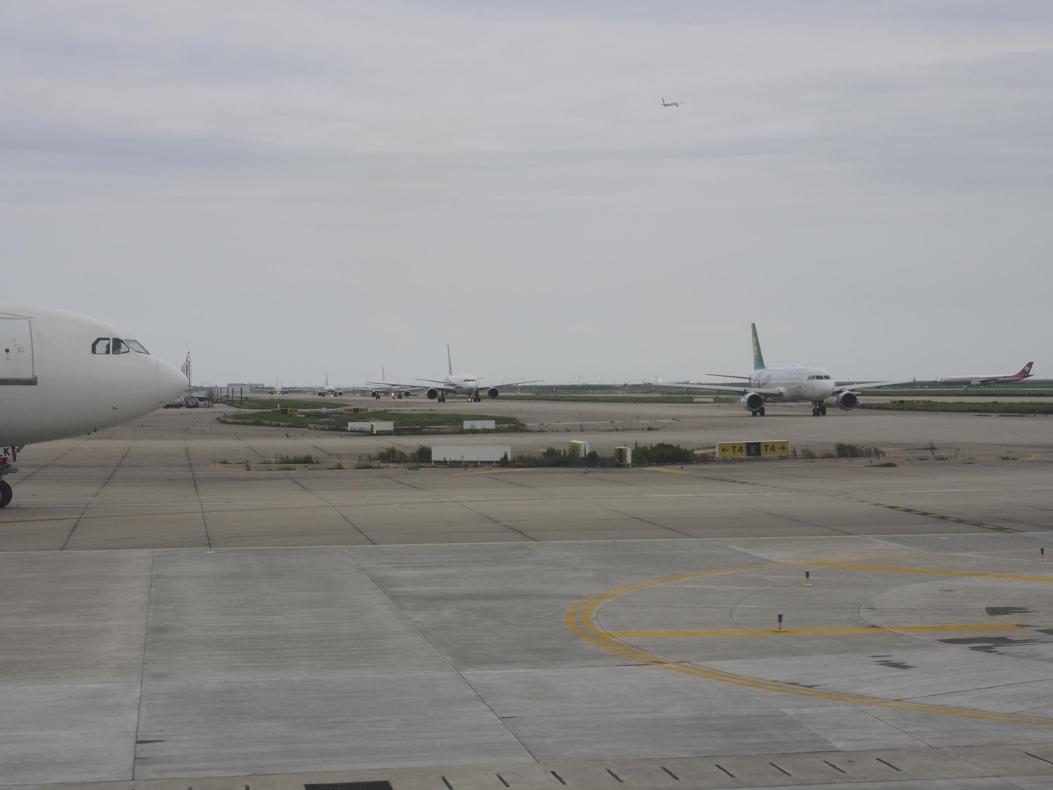 浦東空港滑走路