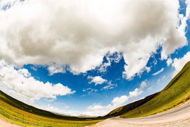 祁連-草原の道