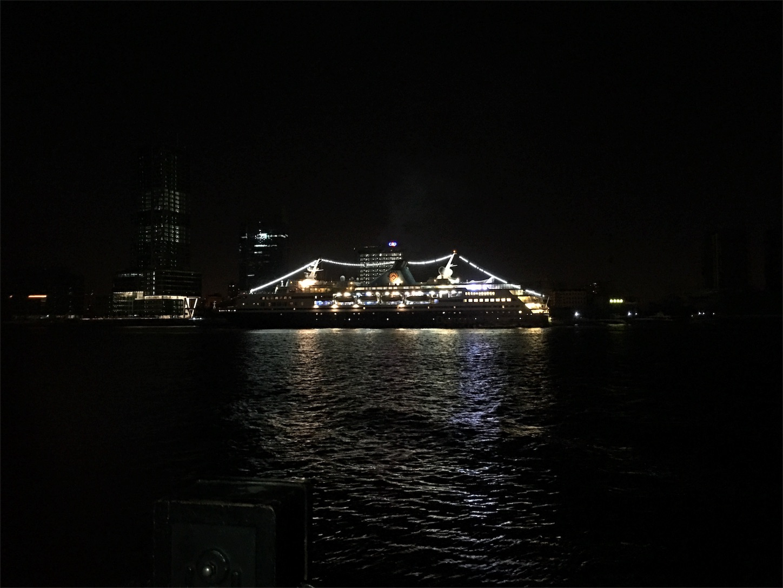 上海の豪華客船