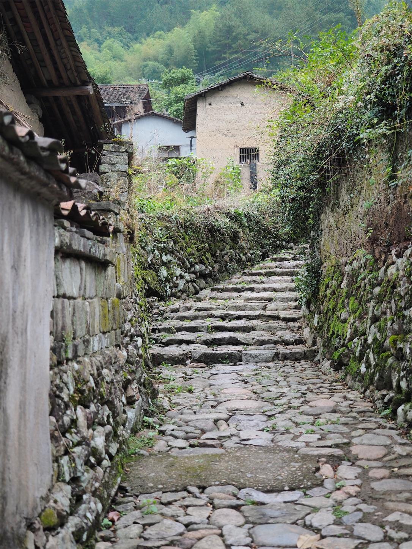 独山村(階段)