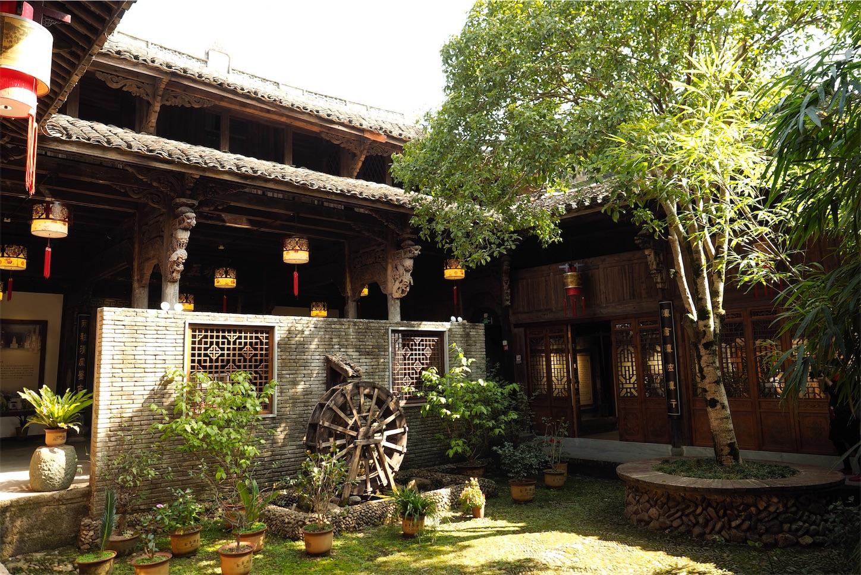 河陽古民居・建物2庭