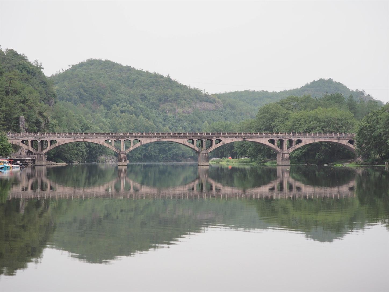 朱潭山景点・橋