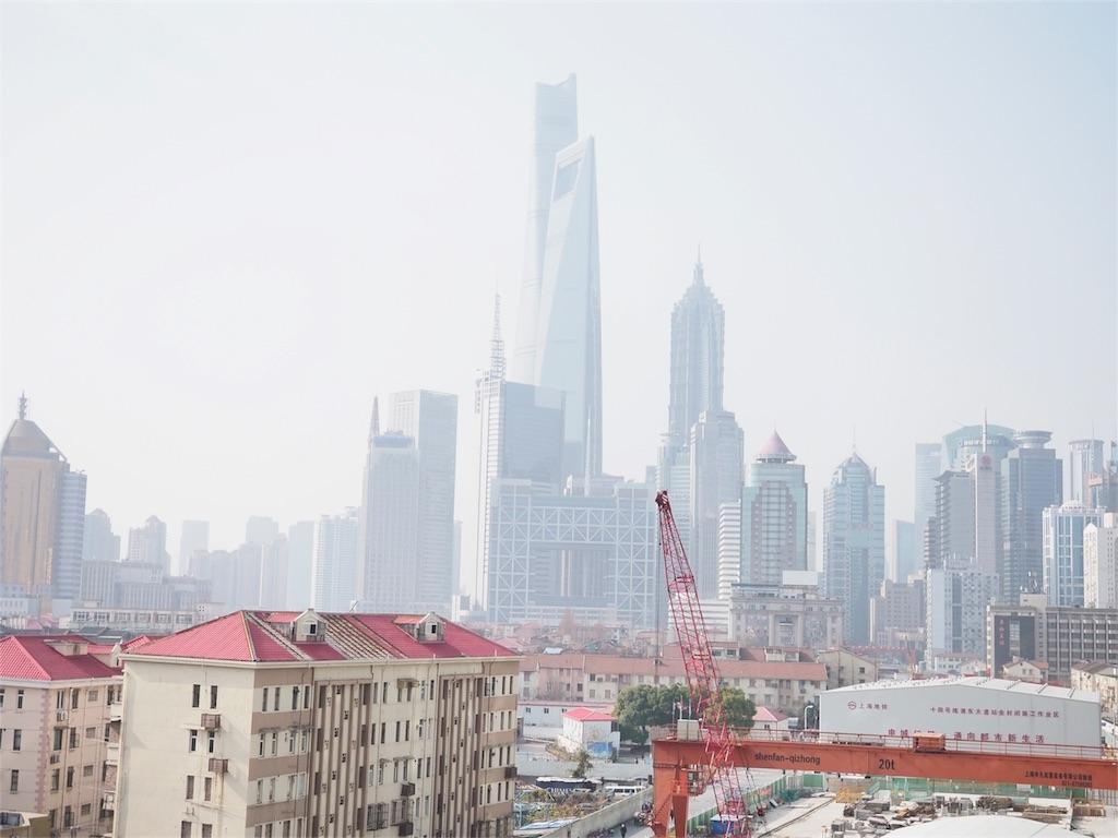 上海の天気2018-01-01