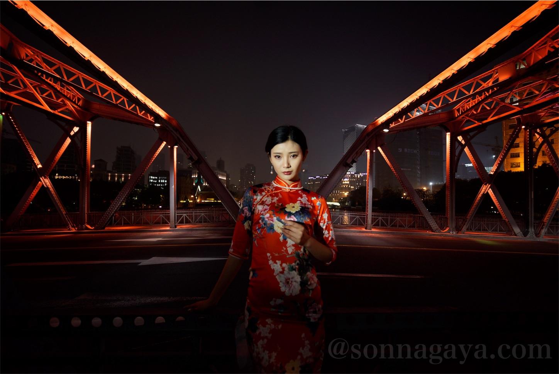上海蘇州川美女ポートレート