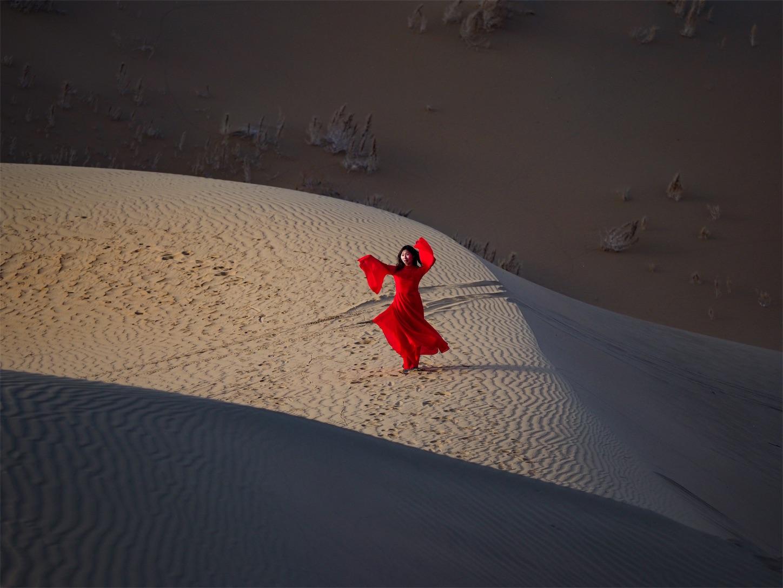 オルドス,クブチ砂漠