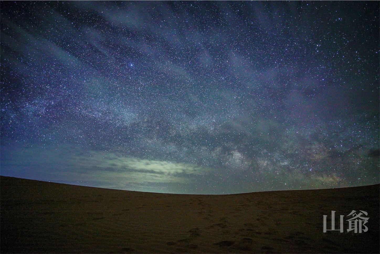 クブチ砂漠の天の川,Ordos,Desert,Milkyway