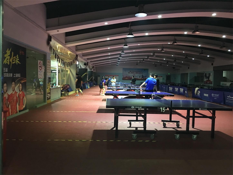 上海浦東の卓球練習場所